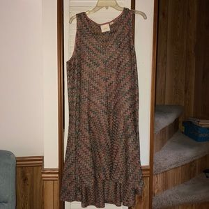 """Knit"" dress. Size large. Anthropology."